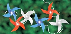Battery Operated LED Pinwheel Lights | Party Supplies