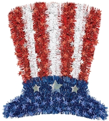 Uncle Sam Deluxe Hat Decoration | Party Supplies