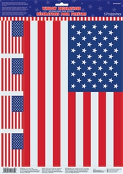 Flag Window Clings | Party Supplies