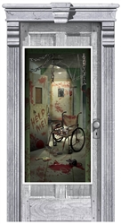Asylum Corridor of Doors Door Decoration | Party Supplies