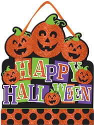 Happy Halloween Medium Sign | Party Supplies