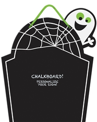 Family Friendly Chalkboard Tombstone | Party Supplies