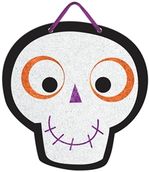 Family Friendly Skull Value Sign | Party Supplies