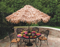 Summer Natural Umbrella Cover | Luau Party Supplies