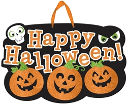 Happy Halloween Large Sign | Party Supplies