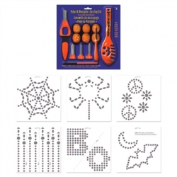 Poke-a-Pumpkin Carving Kit