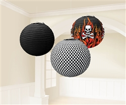 Rock On Paper Lanterns | Party Supplies