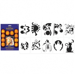 Pumpkin Carving Stencil Book