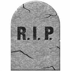 Halloween Small Tombstone | Party Supplies