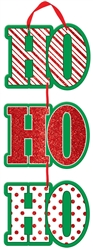 Ho Ho Ho Medium Hanging Sign | Party Supplies
