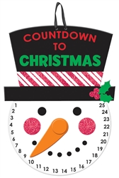 Christmas Countdown Medium Hanging Sign | Party Supplies