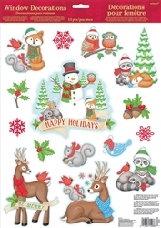 Winter Friends Window Decoration | Party Supplies