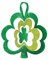 Spinning Shamrock Sign | Party Supplies