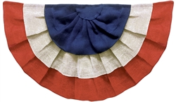 Americana Bunting Burlap | Party Supplies