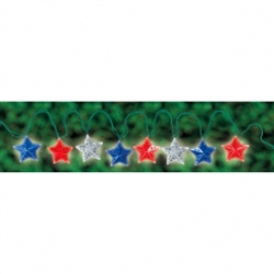 Americana Galvanized Star Lights | Party Supplies