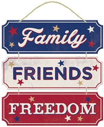 Americana Friends/Family Fun Sign | Party Supplies