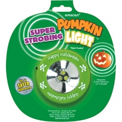 Pumpkin Strobe Light