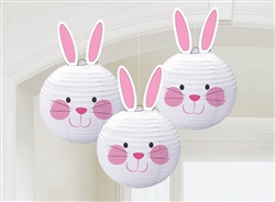 Bunny-Shaped Lanterns | Party Supplies