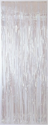 Iridescent Metallic Fringed Table Skirt | Party Supplies
