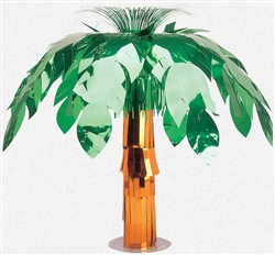 Palm Tree Foil Centerpiece | Party Supplies