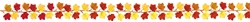 Fall Leaves Mini Garland | Party Supplies