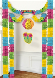 Summer All-in-one Tissue Decoration | Luau Party Supplies