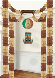Tiki All-in-one Tissue Decoration | Luau Party Supplies