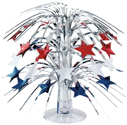 Mini Patriotic Star Centerpiece | Party Supplies