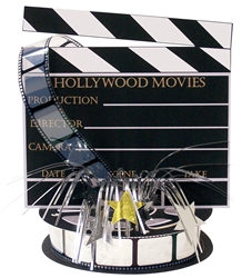 Lights! Camera! Action! Director's Board Centerpiece | Party Supplies
