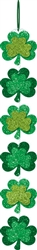 St. Patrick's Day Long Sign with Ribbon Hanger | Party decorations