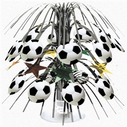Soccer Fan Mini Cascade Centerpiece | Party Supplies