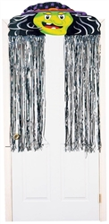 Witch Decorative Door Curtain | Halloween Decorations