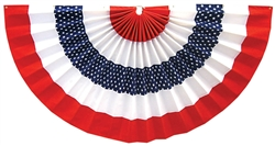 "Patriotic Star Bunting - 24"" x 48"" 