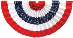 "Patriotic Star Bunting - 36"" x 72"" 