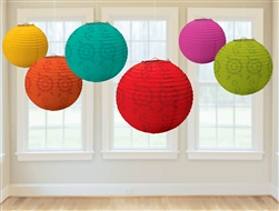 Fiesta Value Pack Lantern Decorations | Party Supplies