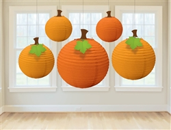 Fall Round Lanterns | Party Supplies