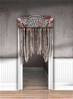 Bloody Doorway Curtain | Halloween Party Decorations