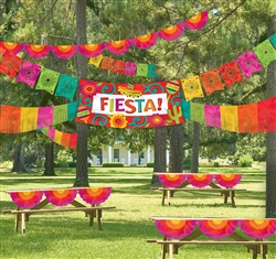Fiesta Indoor/Outdoor Decorating Kit | Party Supplies