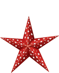 Patriotic Folding Star | Party Supplies