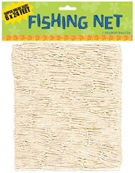 Natural Big Pack Decorative Fish Net | Luau Party Supplies