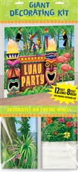 Luau Party Giant Decorating Kit | Luau Party Supplies