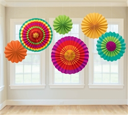 Fiesta Fan Decorations | Party Supplies