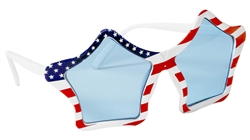 Patriotic Star Glasses | Party Supplies
