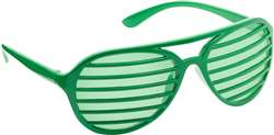 Green Slot Glasses | Party Supplies