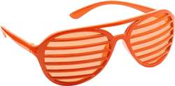 Orange Slot Glasses