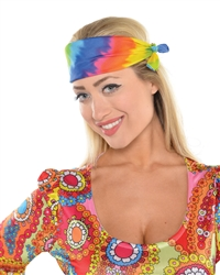 60's Tye Dye Bandana | Party Supplies