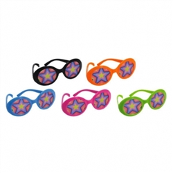 70's Glasses w/Printed Lenses | Party Supplies