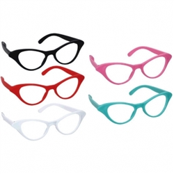 50's Cat Style Glasses | Party Supplies