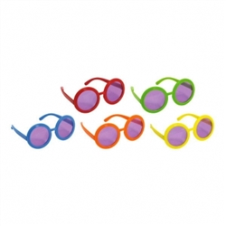 60's Solid Glasses | Party Supplies