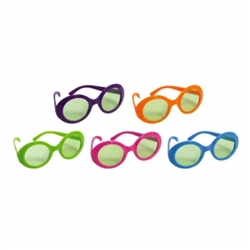 70's Solid Glasses | Party Supplies